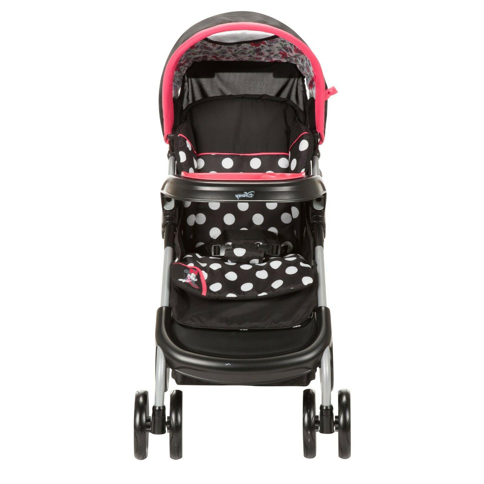 Multicolor Baby Girls Minnie Mouse Plus Travel System Car Seat