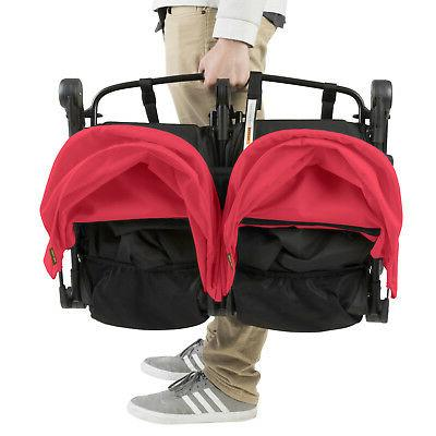 Mountain Double Stroller In Ruby Brand Free
