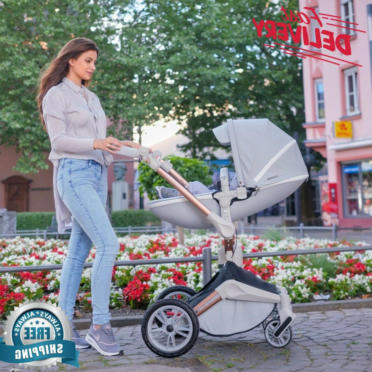 NEW Baby Stroller 360 Rotation Function,Hot Mom Travel Syste