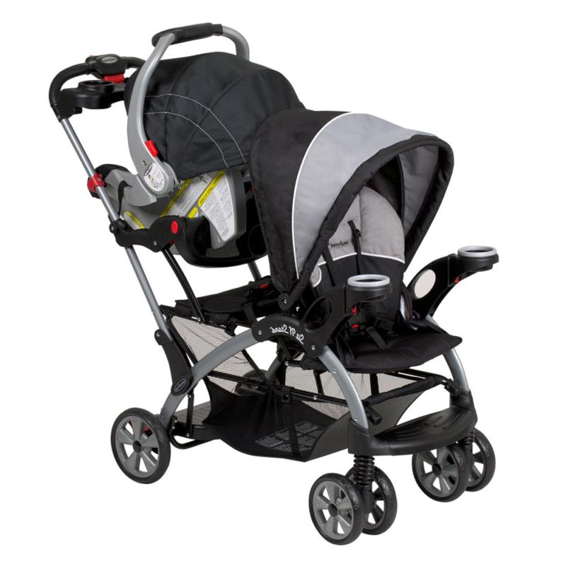 New N Stand Tandem Stroller