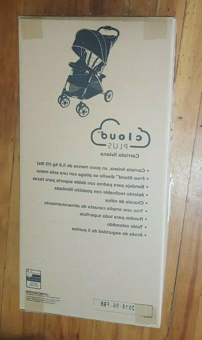 new cloud plus lightweight umbrella stroller slate