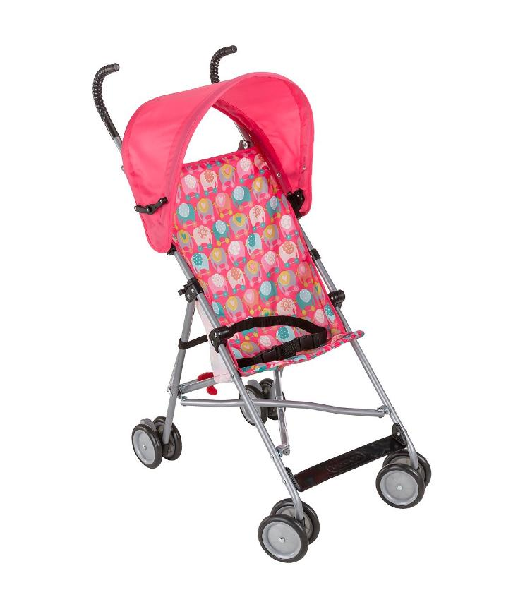 new girl s single baby stroller canopy