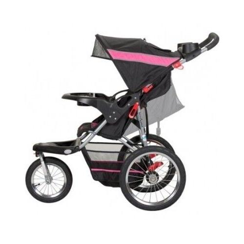 New Girl's Single Baby Stroller Infant Carriage Jogger Strol
