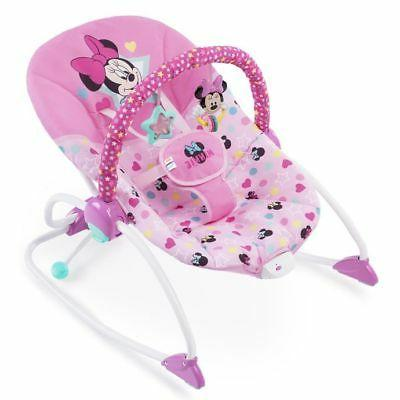 new minnie mouse baby infant bouncer rocker