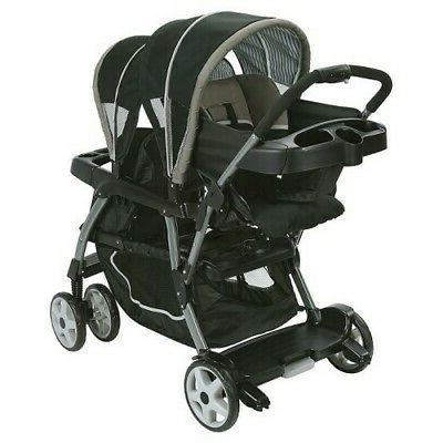 NEW Graco Connect Double Baby Stroller