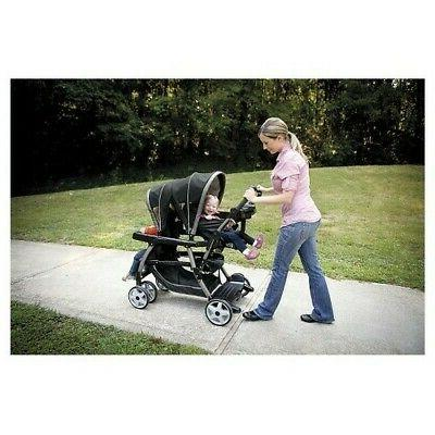 NEW Graco Connect Double Baby Stroller -
