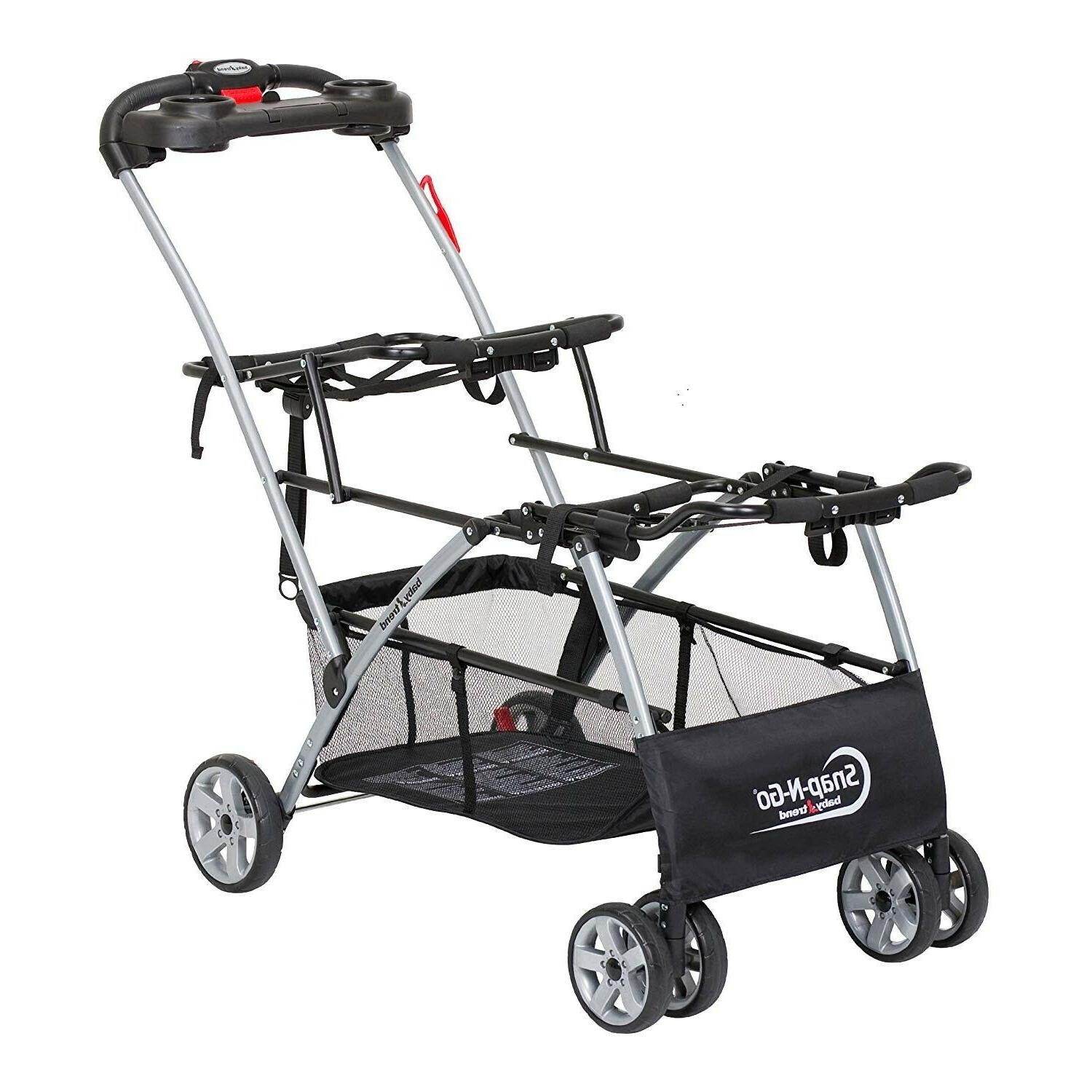 new universal double snap n go stroller