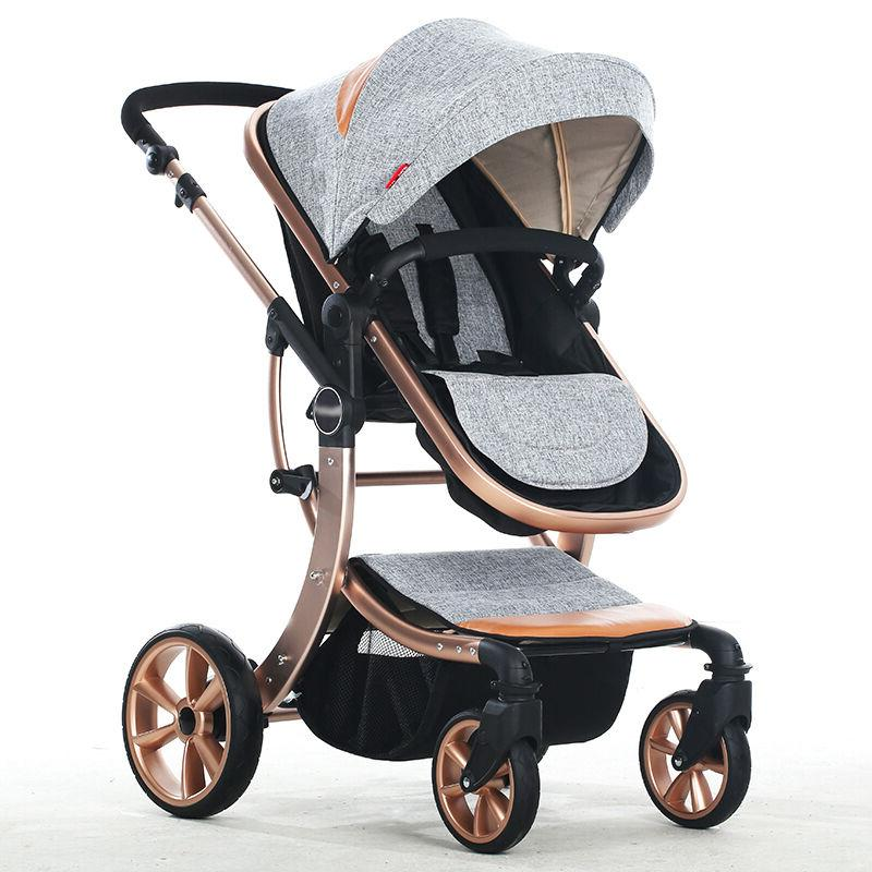 Infant Carriage Foldable Pushchairs Newborn Baby Single