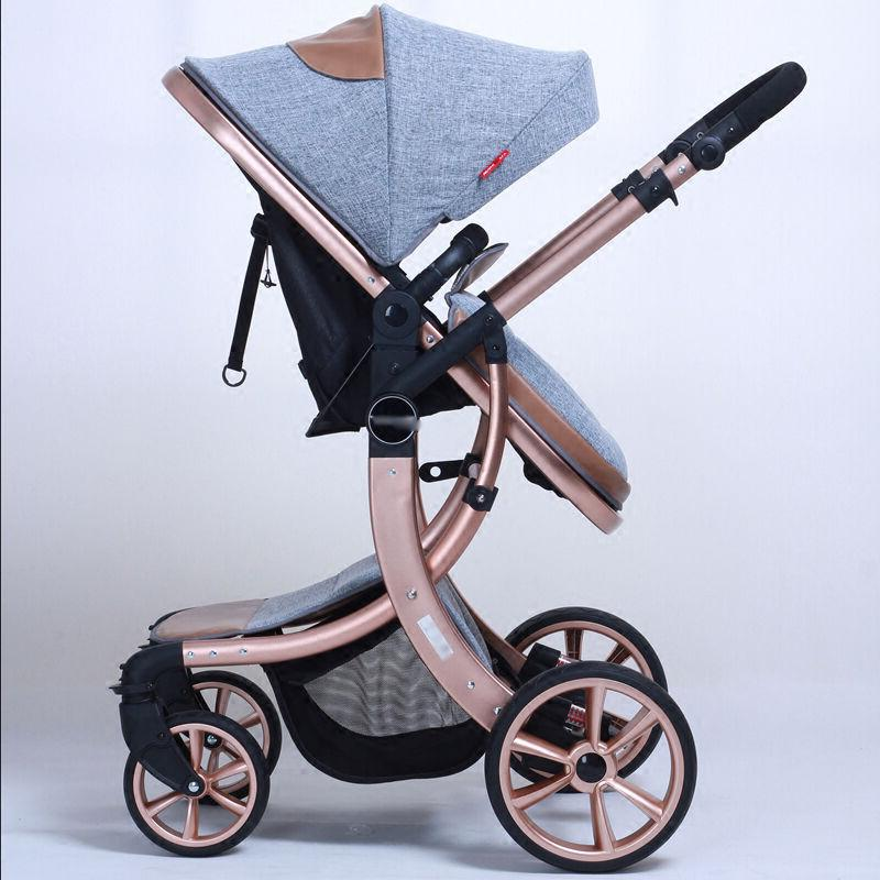 newborn infant carriage strollers foldable pushchairs baby