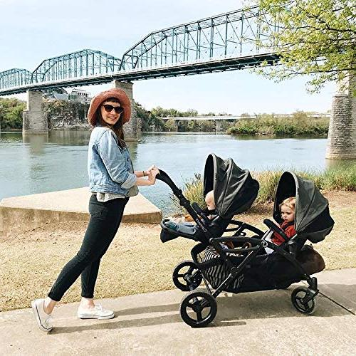 Contours Double & Stroller, Multiple and Aruba Teal