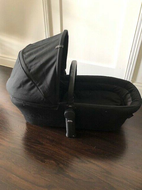 platinum collection priam carrycot black for stroller
