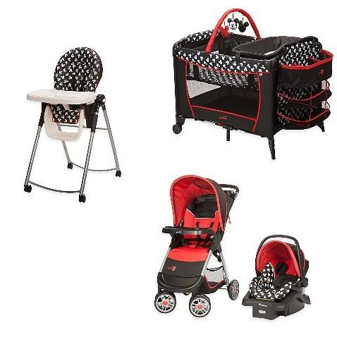 set mickey mouse system stroller