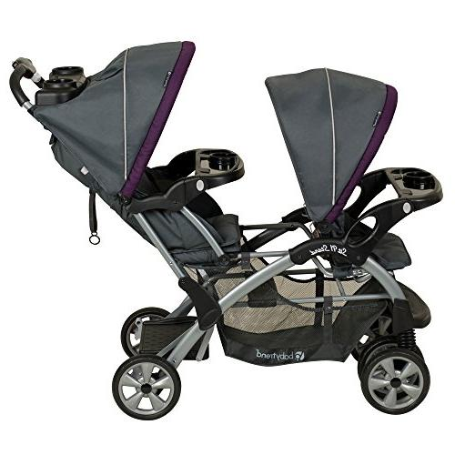 Baby Trend Stand Double Stroller Travel