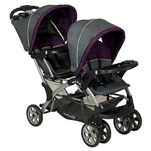 Baby Trend Sit N Stand Double Stroller Travel System - Elixe