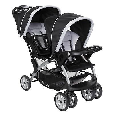 Stand Tandem Stroller Car Seats Travel Stormy