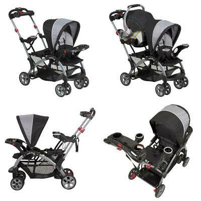 sit n stand ultra stroller phantom