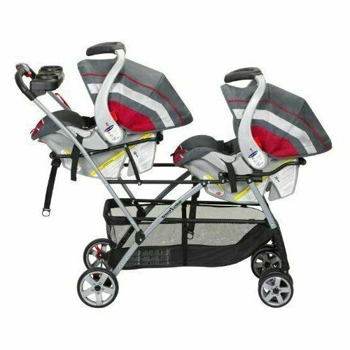Baby Universal Portable Double Stroller