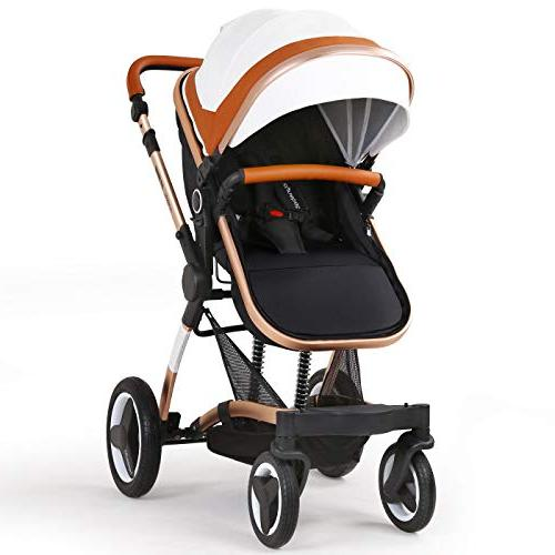 Infant Carriage Toddler Strollers Luxury Single Stroller Folding Compact Stroller Urban Pushchair
