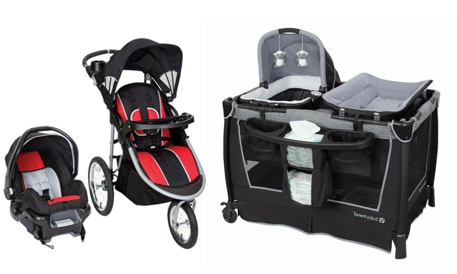 stroller with car seat baby travel system