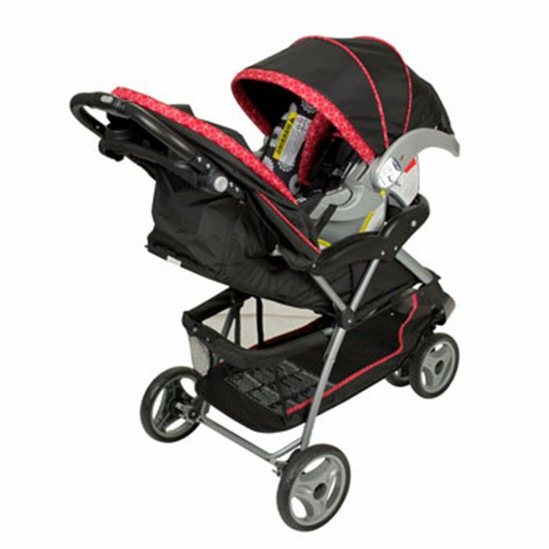 Baby Stroller Car System Playard Combo Floral Boxed