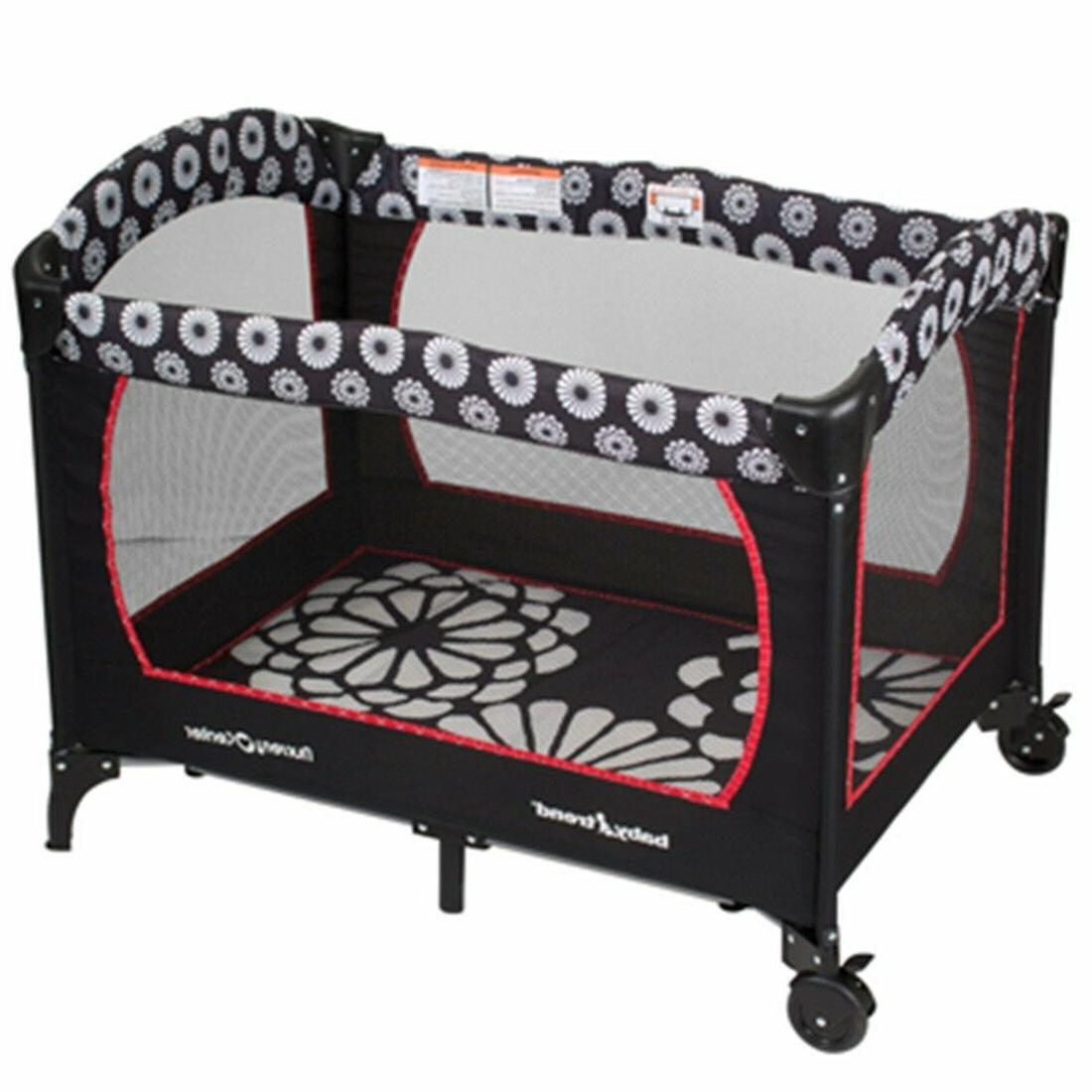 Baby Trend Stroller Car Playard Combo Floral New Boxed
