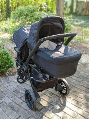 team stroller onyx and team adapter to