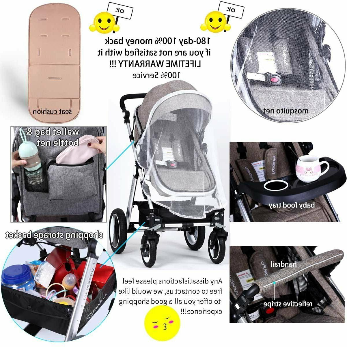 Toddler Baby Stroller - Cynebaby Compact Strollers Single