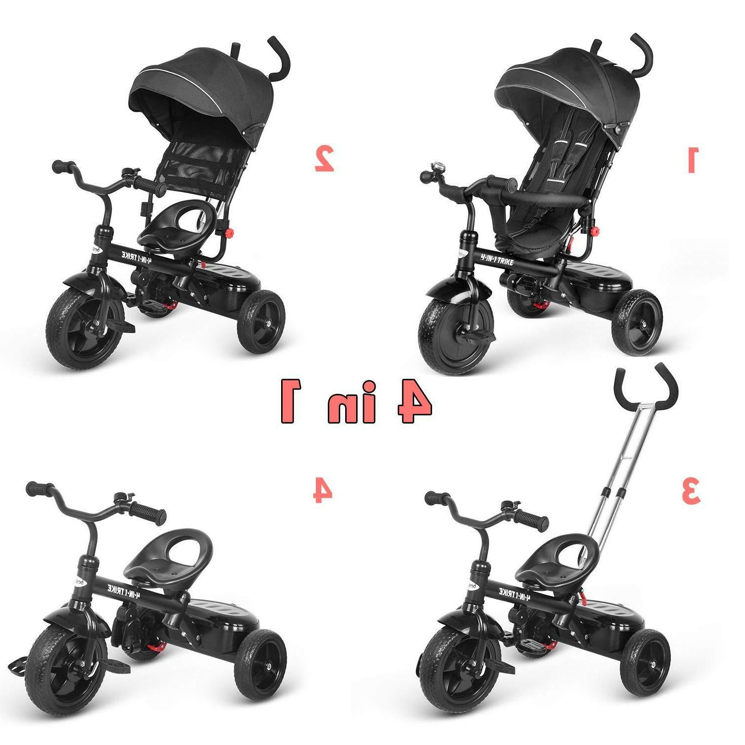 besrey Baby pedals in 1 with Hood