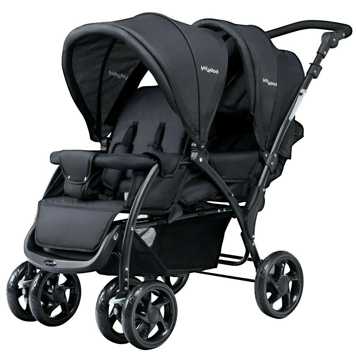 Twin Baby Pushchair Infant Strollers Lightweight