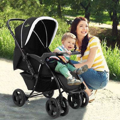Two Baby Kids Travel Newborn Infant Black