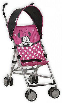 Disney Baby Umbrella Folding Stroller Fly Away Minnie Gift f