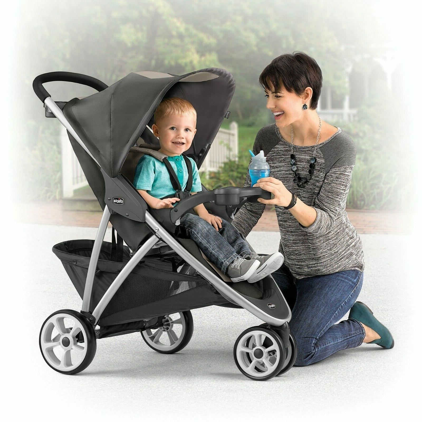 Chicco Quick-Fold Stroller - Blue
