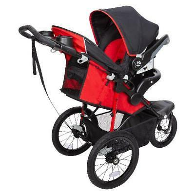 Baby Xcel Jogger Stroller, Ruby Red