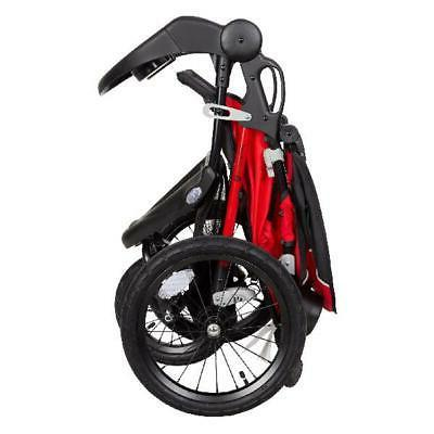 Baby R8 Jogger Stroller, Red