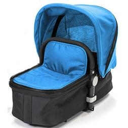 Baby Roues LeTour II Canopy with Bassinet Apron, Blue