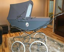 Silver Cross Luxury Prams Brand New - Silver Slate with Came