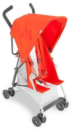 Maclaren Mark II with Recline Stroller, Spicy Orange
