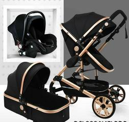 Aulon Max of Babyfond Baby Stroller 3 in 1 Baby Carriage Tra