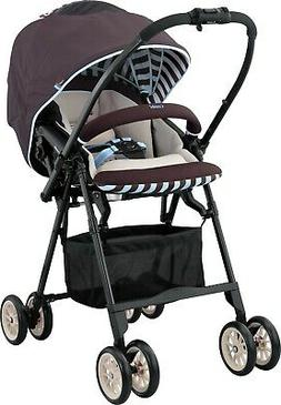 Combi Mechacal 2AC Luxury Stroller, Mint/Brown / ITEM CLOSEO