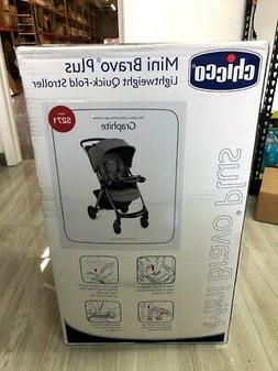 Chicco Mini Bravo Plus Lightweight Stroller, Graphite