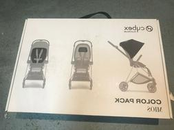 Cybex Mios Color Pack and Comfort Inlay in Manhattan Gray NE