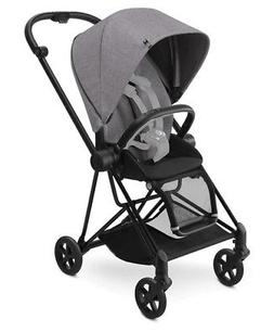 Cybex Mios Stroller - Black -  with Manhattan Grey Seat Fabr