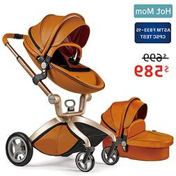 Baby Stroller 2018, Hot Mom Baby Carriage with Bassinet Comb