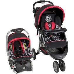 Baby Trend EZ Travel System Infant 3-Wheel Stroller And Car
