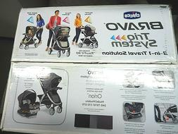 NEW CHICCO BABY BRAVO TRIO TRAVEL SYSTEM WITH KEYFIT 30 ZIP