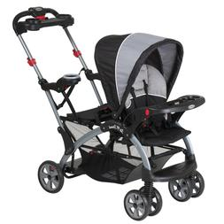 New Baby Trend Sit N Stand Ultra Tandem Stroller Phantom Fre