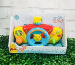 New Disney Baby Winnie The Pooh Stroller Drivers Wheel Elect