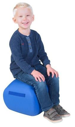 "NEW Angeles BLUE 12"" Turtle Seat Lightweight Soft Classroom"
