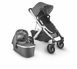 new vista v2 with bassinet charcoal melange