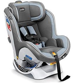 Chicco NextFit iX Zip Convertible Car Seat Steel Blue Rear &
